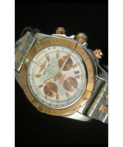 Breitling Chronomat Evolution Reloj Réplica Suizo en Oro Rosado