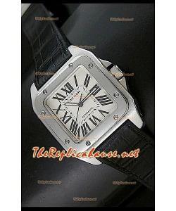 Cartier Santos 100, tamaño mediano Réplica 1:1
