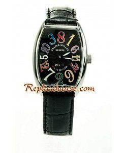 Franck Muller Crazy Hours Reloj Réplica