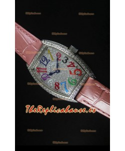 Franck Muller Master of Complications Ladies Reloj en Acero Inoxidable