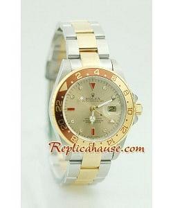 Rolex Réplica GMT Dos Tonos