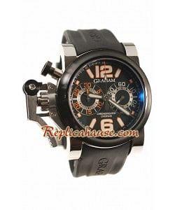 Graham Overtamaño Chronofighter Divers Reloj Suizo de imitación