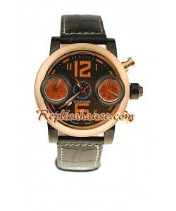 Graham Swordfish Oro Rosa Reloj Réplica