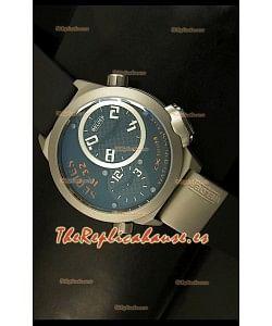 Welder K23 Duo Side, Reloj Réplica Japonesa en Acero Inoxidable