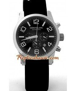 Mont Blanc Réplica Timewalker - Dial Negro