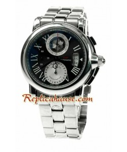 Mont Blanc Star GMT 100th Anniversary Reloj Suizo de imitación