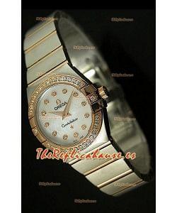 Omega Constellation, Edición Double Eagle, Reloj réplica de mujer