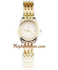 Omega Co-Axial Deville Dama Reloj Réplica