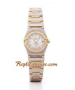 Omega Constellation Reloj Réplica Dama