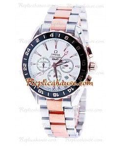 Omega Seamaster Aqua Terra GMT Cronógrafo Reloj Réplica