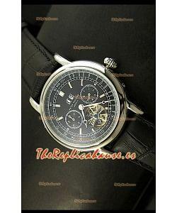 Patek Philippe Complications Tourbillon, Reloj Réplica Japonesa en acero inoxidable