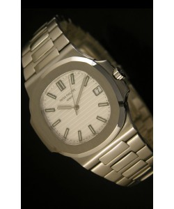 Patek Philippe Nautilus 5711 Reloj Suizo Jumbo color Blanco - Ultima Edición Réplica Escala 1:1