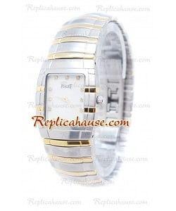Piaget Tonneau Limelight Dos Tonos Diamonds Reloj