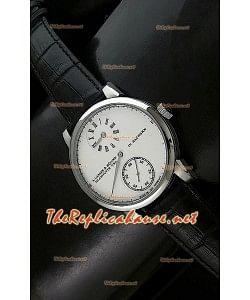 Réplica de reloj automático japonés Alange Sohne en acero.