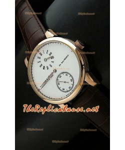 Reloj automático japonés Alange Sohne de oro 18K