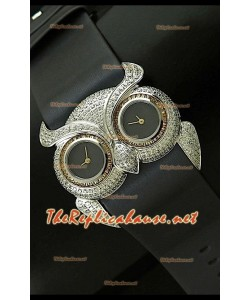 Chopard Animal World Reloj Señoras Búho en Acero Inoxidable