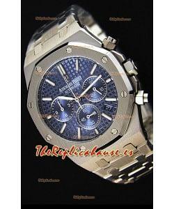 Audemars Piguet Royal Oak Reloj Réplica Cronógrafo de Cuarzo Suizo Dial Azul - 41MM