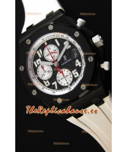 Audemars Piguet Royal Oak Offshore Reloj Réplica a Espejo 1:1 Black & White Edición Marcus