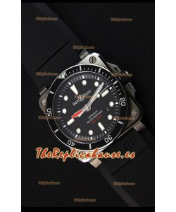 Bell & Ross BR03-92 Reloj Réplica Suizo de Acero versión Buzo a espejo 1:1