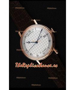 Breguet Classique 5177BR/12/9V6 Reloj en Oro Rosado con Marcadores de Hora en Numeros Romanos