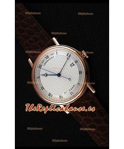Breguet Classique 5177BR/15/9V6 Reloj en Oro Rosado con Marcadores de Hora en Numeros Romanos