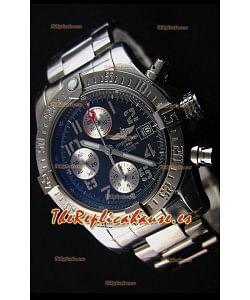 Breitling Skyland Avenger Reloj Réplica Suizo Cronógrafo Dial Gris Réplica a Espejo 1: 1