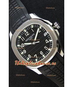 Patek Philippe Aquanaut 5167A-001 Reloj Réplica Suizo Dial Negro - Edición a Espejo 1:1
