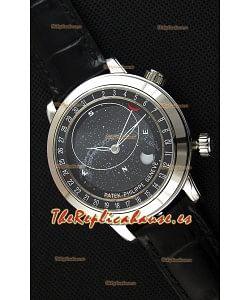 Patek Philippe Grand Complication 6102P Celestial Moon Age Reloj Réplica Suizo Dial Gris