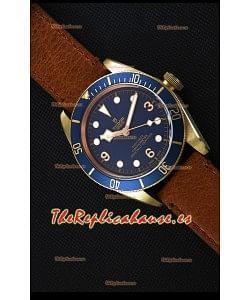 Tudor Heritage Bronze Black Bay Blue Bucherer Edición Limitada Reloj Réplica Suizo a Espejo 1:1