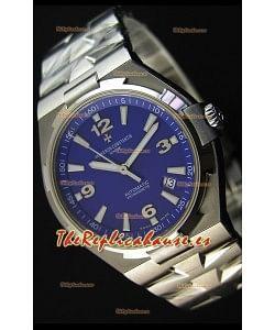 Vacheron Constantin Overseas Reloj Réplica Suizo con Dial en Azul