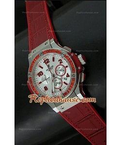 Hublot Big Bang Reloj Suizo de Cuarzo - 38MM en Rojo