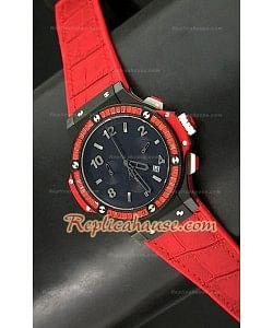Hublot Big Bang Tutti Frutti Reloj de Cuarzo en Rojo - 38MM