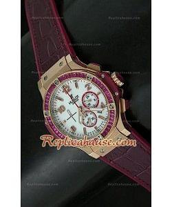 Hublot Big Bang Reloj Oro Rosa para Señoras - 38MM