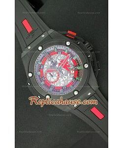 Hublot Big Bang Keng Power Manchester United Reloj Japonés en PVD