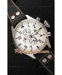 IWC Big Pilot Complications Reloj Japonés de Acero - 47MM