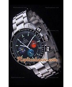 Reloj Omega Speedmaster Racing Edición Michael Schumacher con Esfera de Colores