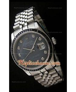 Rolex Datejust Reproducción Reloj Suizo con Esfera Perla