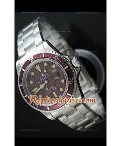 Reloj Suizo Rolex Edición Submarener Swiss Ventage Tropical 1680