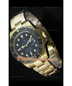 Reproducción Reloj Suizo Rolex Submarener con Bisel de Cerámica