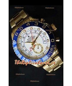 Rolex Réplica Yatchmaster II Suizo de Oro Amarillo – 1:1 Réplica Espejo