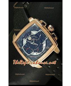 Reloj Tag Heuer Monaco Mikrograph Oro rosado.