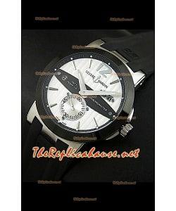 Reloj réplica japonesa perpetua Ulysse Nardin GMT