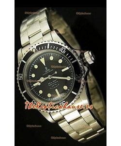 Tudor Submariner 5514, Estilo Vintage, sin Fecha, Reloj Suizo - Réplica final en escala 1:1