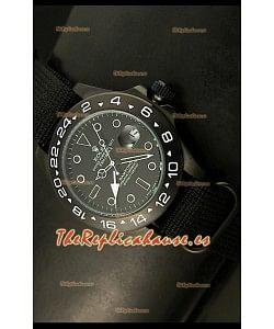 Reloj Rolex Explorer II Bamford, Réplica, Edición Stealth Ghost