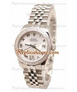 Rolex Datejust Diamond VI Reloj de imitación Japonés - 36MM