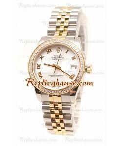 Rolex Datejust Oyster Perpetual Reloj Suizo de imitación - 36MM