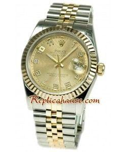 Rolex Datejust Reloj Suizo de imitación