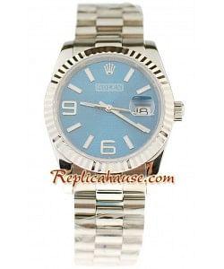 Rolex Réplica Datejust Reloj para hombre