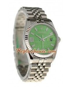Reloj Rolex Réplica Datejust Silver