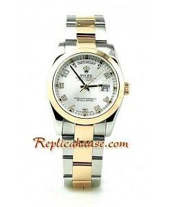 Rolex Réplica Day Date Oro Rosa Reloj para hombre